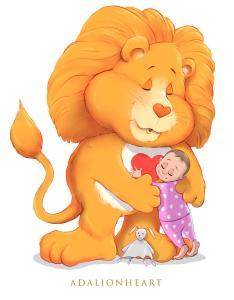 Brave Heart Lion Care Bear
